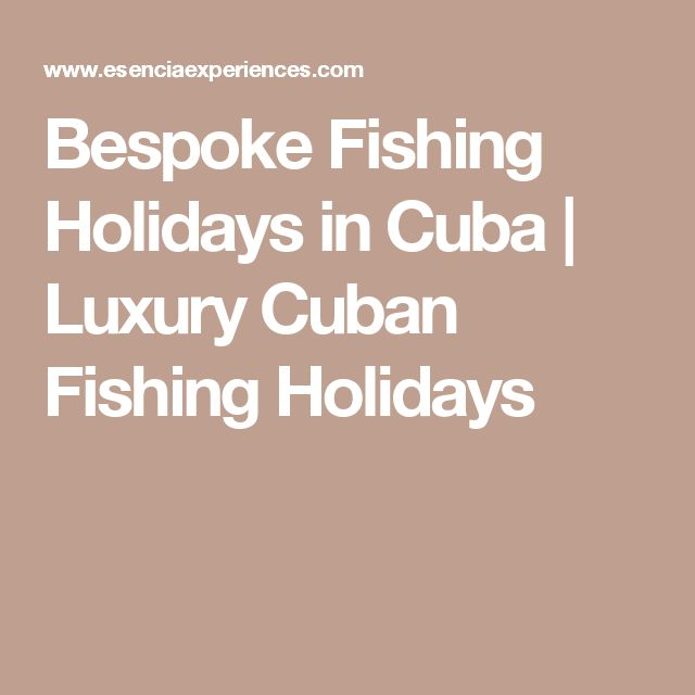 Bespoke Fishing Holidays in Cuba | Luxury Cuban Fishing Holidays