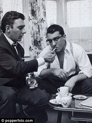 Ronnie and Reggie Kray pictured in the 1960s