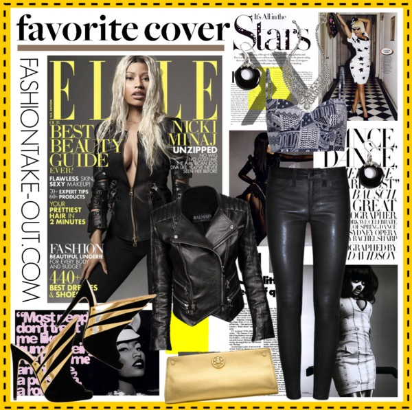 """NICKI MINAJ: April 2013 Magazine Cover"" by fashiontake-out on Polyvore"