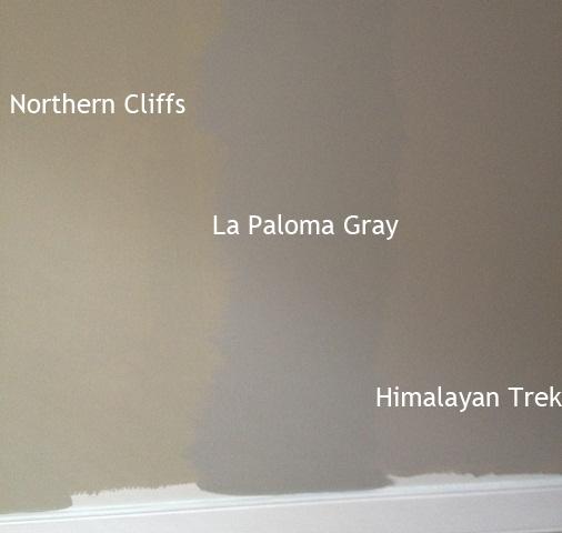La Paloma Apartments: Benjamin Moore Himalayan Trek, La Paloma Gray, Northern