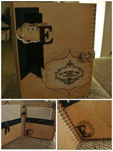 Briefpapier Mappe für Freundin
