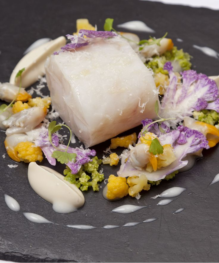 This confit pollock recipe from Nigel Mendham makes a scintilating starter to serve up for the most extravagant of dinner parties. If the use of three cauliflowers seems a little excessive you can just use one regular cauliflower instead - though you won't get the same depth of flavour or colour.