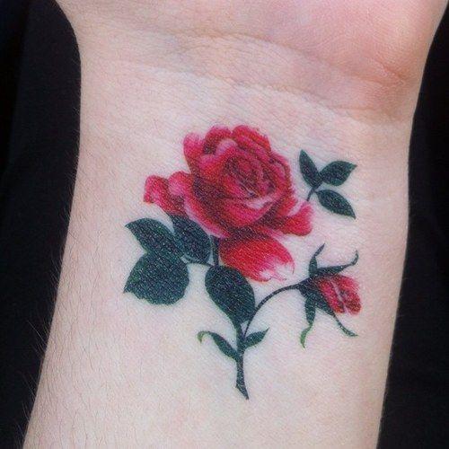 tatuaje de rosas en la muñeca - Buscar con Google