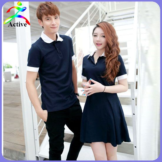 2015 New Arrival Summer Couple Clothes Short Sleeve Casual T shirt For Lovers Good Quality Slim Korean Matching Couple T Shirts-inT-Shirts from Women's Clothing & Accessories on Aliexpress.com | Alibaba Group