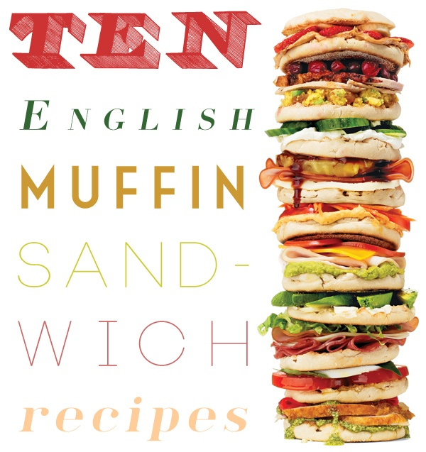 10 English Muffin Sandwich #Recipes