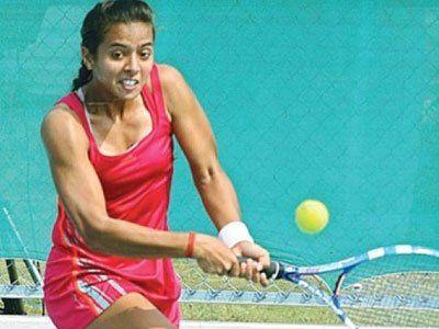 India's Ankita Raina blasted her way into the final of the International Tennis Federation's (ITF) women's $25,000 tennis tournament, beat