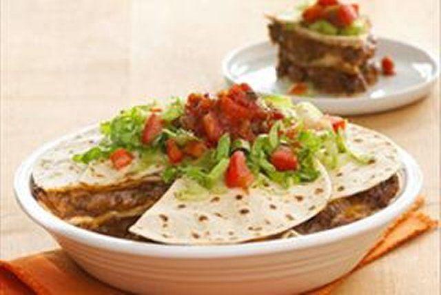 Burritos au four