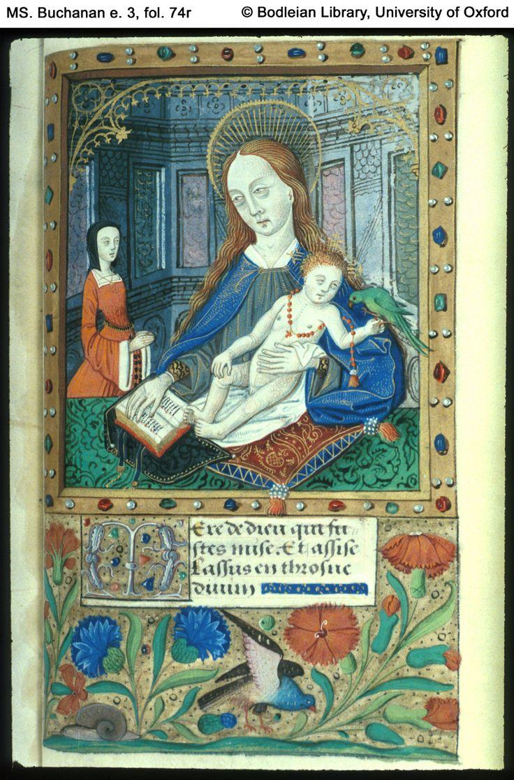 University Of Oxford, Bodleian Library Ms Buchanan E 3 Fol 74r