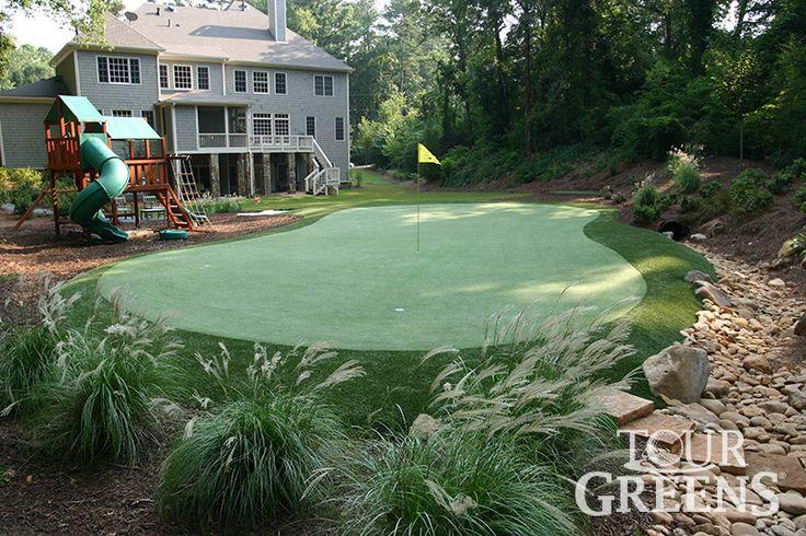 Tour Greens | Backyard Putting Green Photos