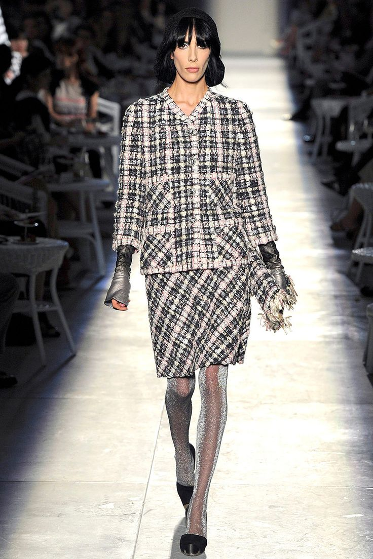 The dress is chanel - Chanel Fall 2012 Couture