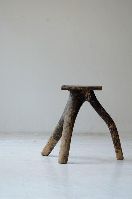 antique stool | japan