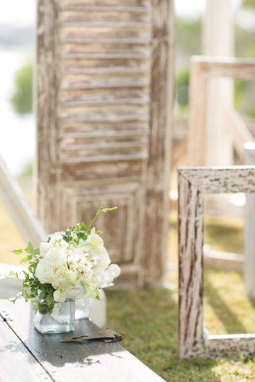 The windows adorned with flowers by Tirtha Bridal Uluwatu Bali #outdoor #garden #wedding