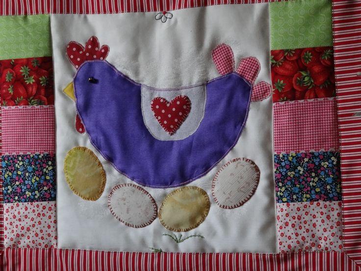 Textilní obrázek - Velikonoce viz http://www.fler.cz/shop/kapsare-od-mily