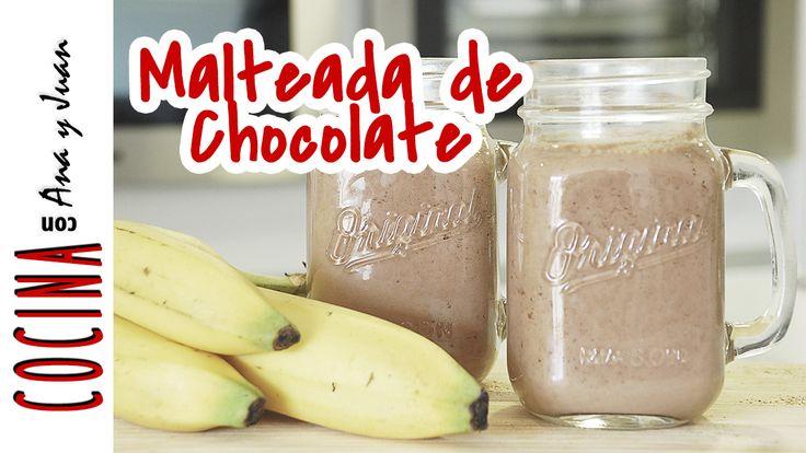Malteada de Chocolate Sin Azúcar - Mejor Real que Perfecto