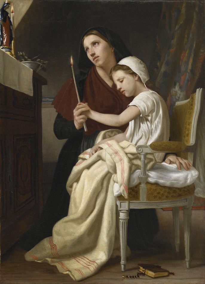 Reflexion William Adolphe Bouguereau painting for bedroom