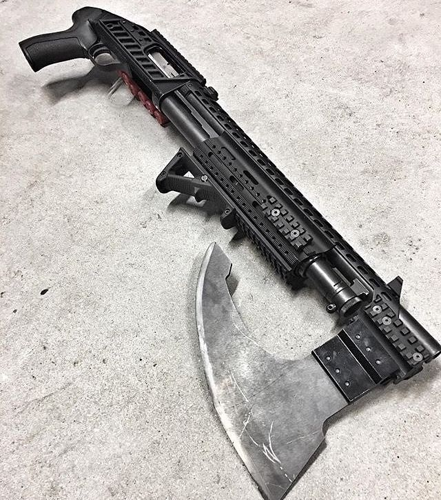 Shotgun badass