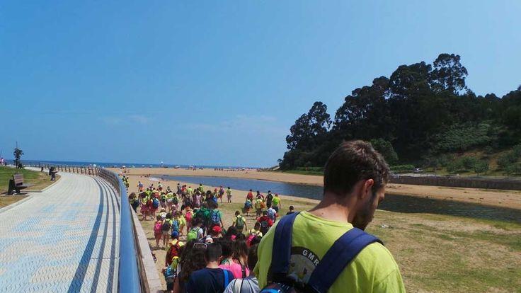 Galería de fotos » Excursiones - MUJA y Playa Asturias | GMR summercamps