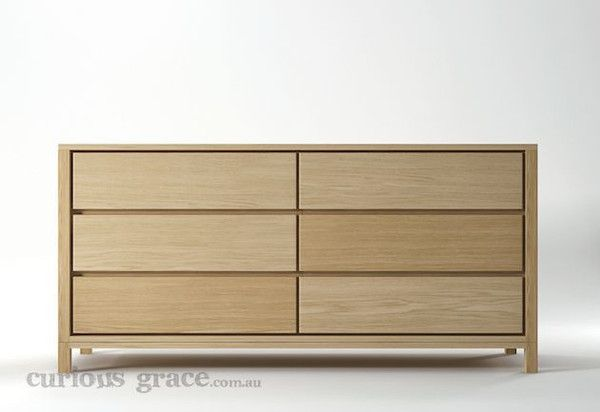 Continu Chest - 6 drawers - Curious Grace $2,377.00.  W = 162 D= 45 and H = 77.
