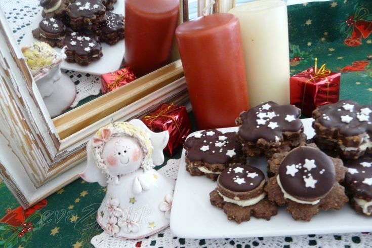 Čokoládové kvietky