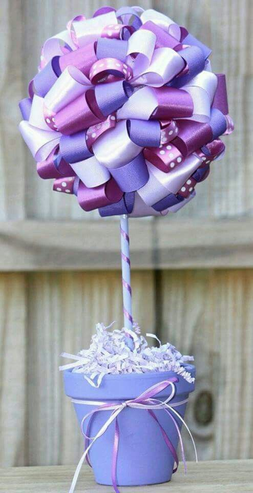 Center piece purple