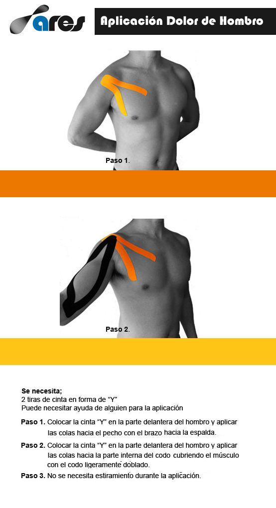 ARESkt para el dolor de hombro. Aprende cómo aplicarlo..