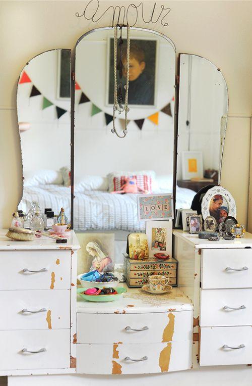inspiration for dressing area: Decor, Mirror, Ideas, Interior, Dressing Tables, Dream, Vintage, Bedrooms