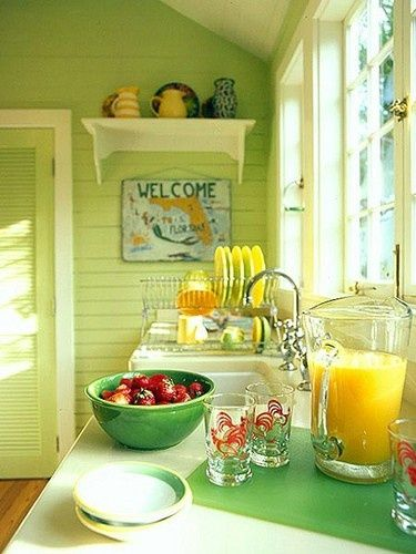 This will be the kitchen in my Key West home :)