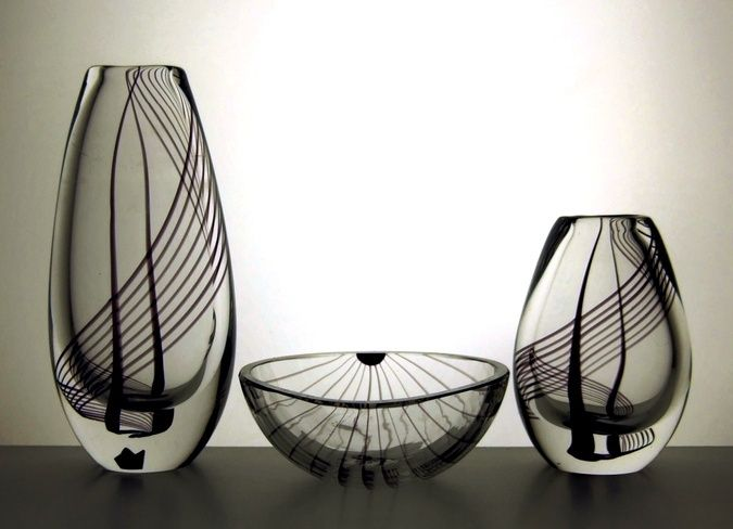 Vicke Lindstrand - spirals 1950's