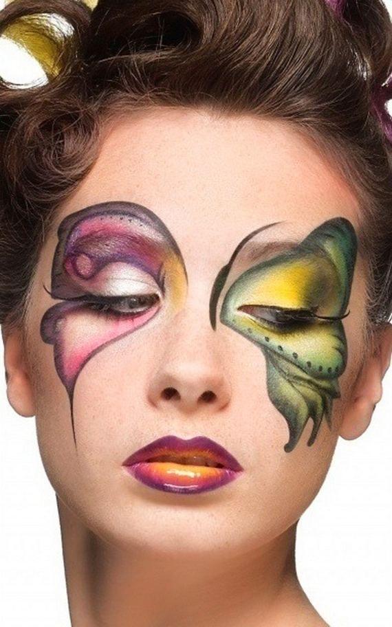 butterfly makeup
