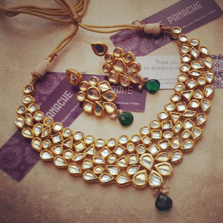 Bridal Kundan Set -Jewellery-Ze Panache