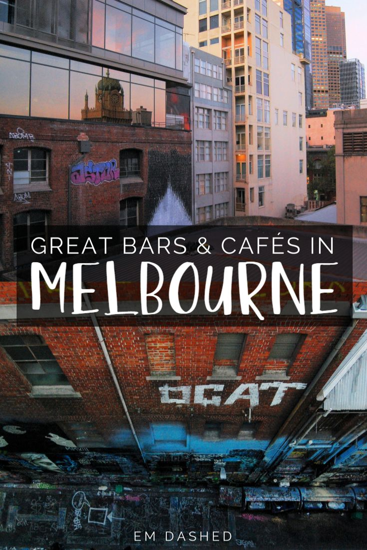 Finding a great bar or café in Melbourne is like finding hay in a haystack -- but that can also make choosing a spot rather overwhelming. Click through for my suggestions on where to eat and drink in Melbourne, Australia after spending seven months living and working in the city. | #Melbourne #Victoria #Australia