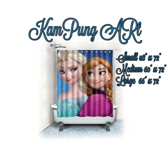 Disney Frozen Curtains Party Invitations Ideas