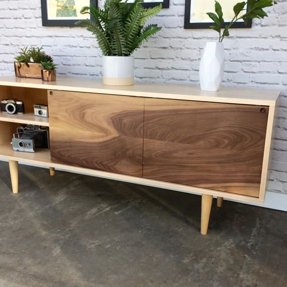 52 best Our work TV media stands and credenzas with sliding doors
