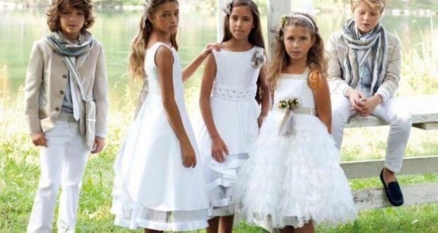 abiti da comunione: la nuova moda per i vostri bambini!
