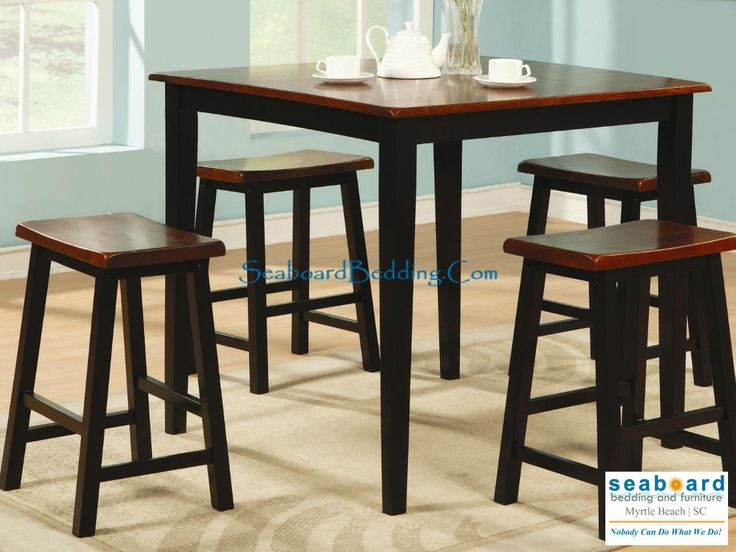 Beautiful Standard Bar Height Table