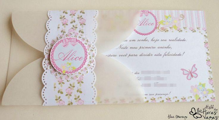 convite floral provençal