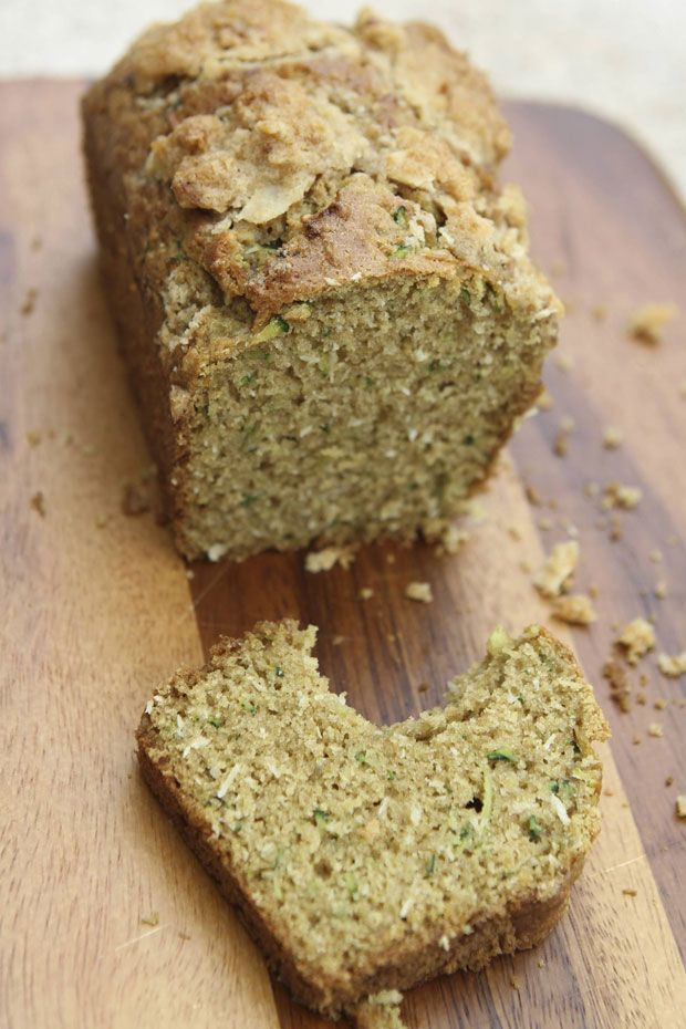 Coconut Zucchini Bread With Streusel Topping | Eat • Drink ...