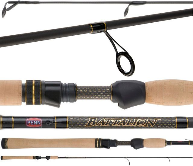 PENN BATTALION RODS Product Reviews - UD FishingTackle  PENN fishing tackle has taken inshore fishing to the next level with their new line of light tackle fishing rods the Battalion line.  The Battalion rods have everything you need in a light tackle rod and nothing extra that you don't need to get in your way on a rod to get in your way.