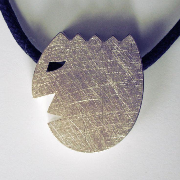 Lausbub - Kettenanhänger aus Silber