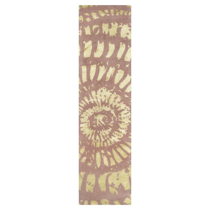 Manchester Accent Rug - Plum (Purple) / Mist (2'3 X 9') - Safavieh