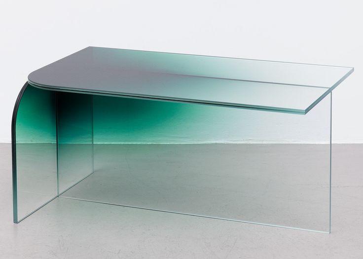 Germans Ermičs creates coloured glass furniture collection