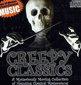 creepy classics scary halloween music sounds cd new - Scary Halloween Music Mp3