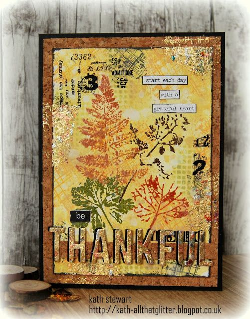 Kath's Blog......diary of the everyday life of a crafter: Simon Says...Thanks/Thanksgiving