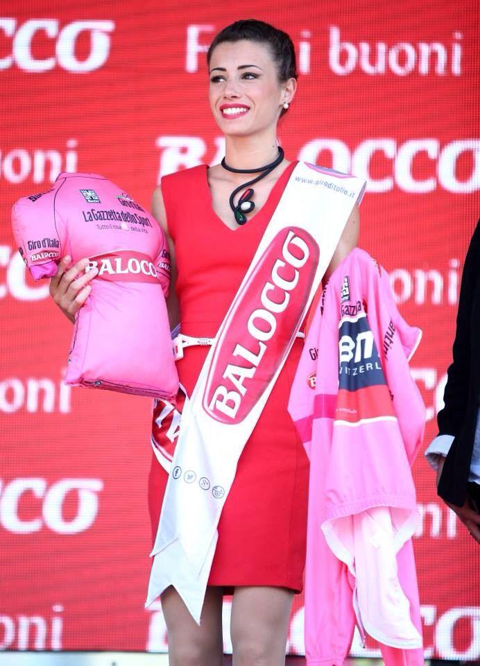 Giro D'Italia Miss Balocco - maglia Rosa 2014 ADELE IZZO