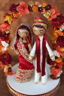 Indian cake topper :)