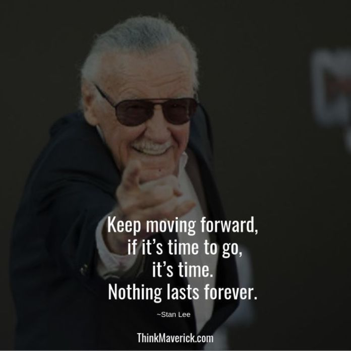 Top 28 Inspirational Stan Lee Quotes Marvel Quotes Stan Lee Quotes Superhero Quotes