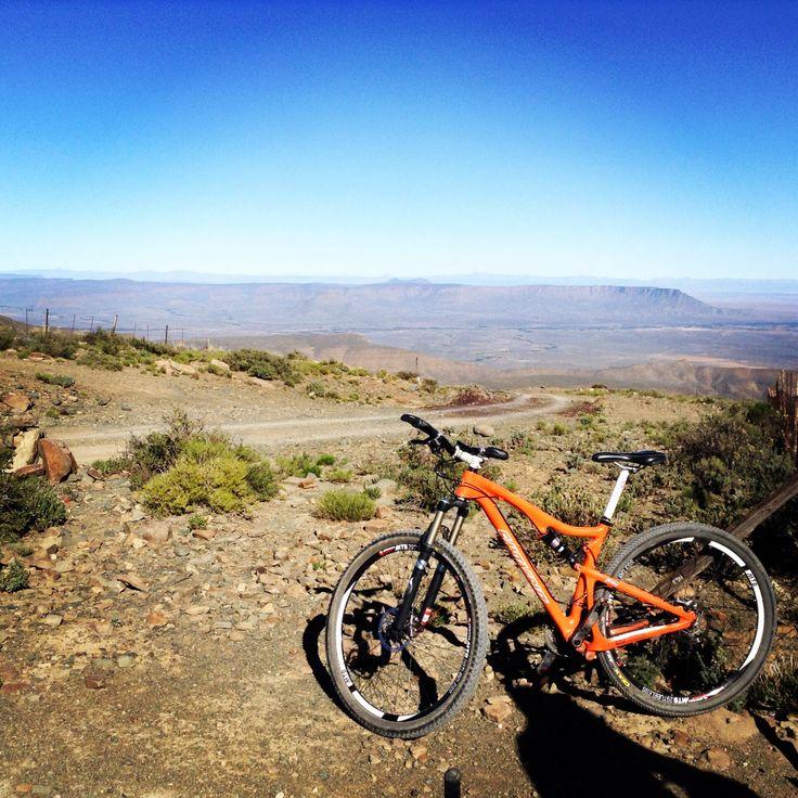 Cycling South Africa; View over Tankwa Karoo