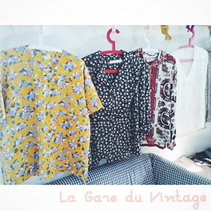 Vintage Clothes - Blouses Blouses and other Blouses