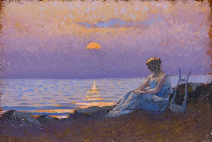 Sappho by Alphonse Osbert (1857-1939)