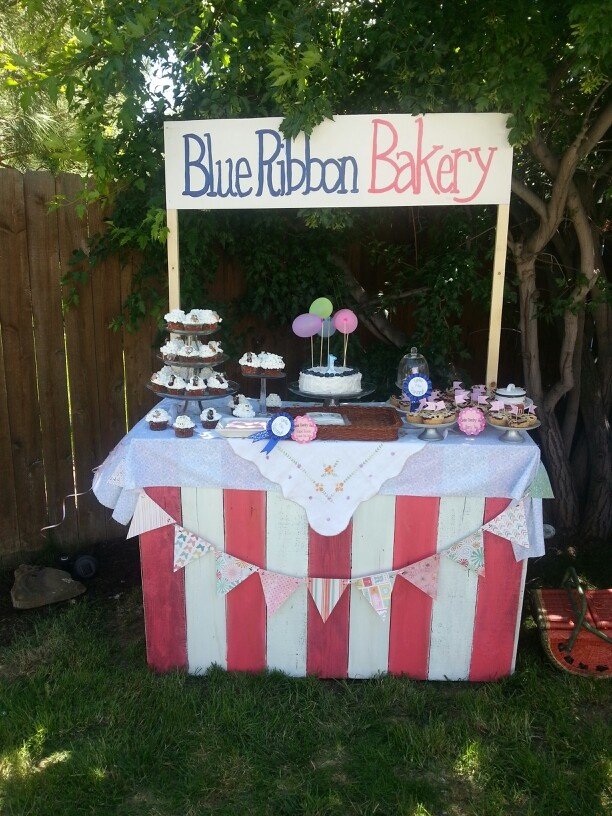 Bakery at country fair party
